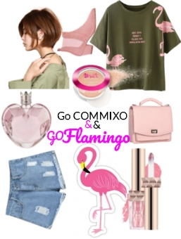 Flamingo Girl