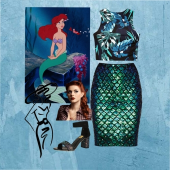 Mermaidy Look