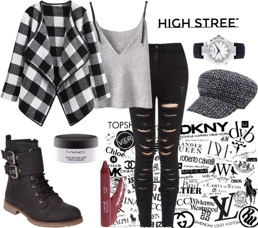 High Street ft. Black And White