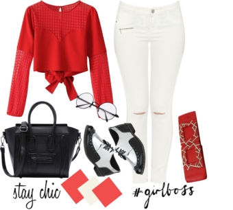Red and White in Style