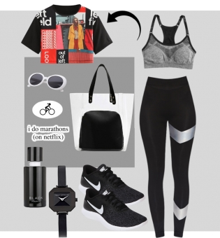 Athleisure look