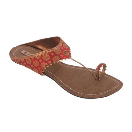 Explore latest Indulgence Women Maroon Flats at Rs. 798 sold by Flipkart