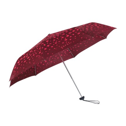 buy Umbrella - Handy Mini Alu Star Red at Rs. 1,296 sold by Shoppers Stop