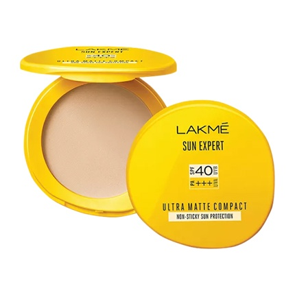 buy Lakme Sun Expert Ultra Matte SPF 40 Pa Compact at Rs. 210 sold by Nykaa