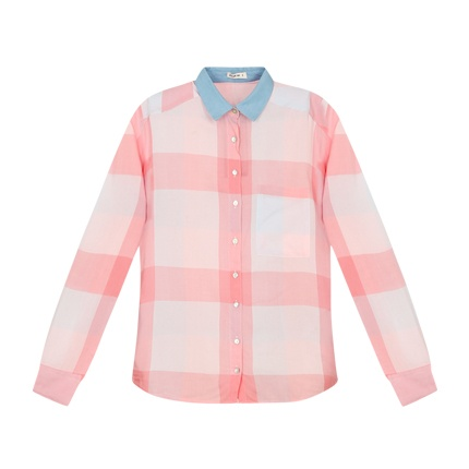 c36bf9ba75 Explore latest Checked Shirt with Patch Pocket at Rs. 2,400 sold by Ajio