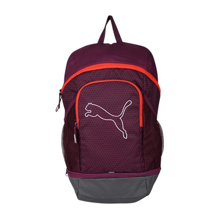 buy PUMA Printed Echo Laptop Backpack at Rs. 1,699 sold by Ajio