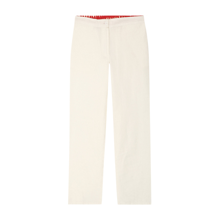 a1c42c938b Explore latest Women White Skinny Fit Solid Skinny Fit Trousers at ...