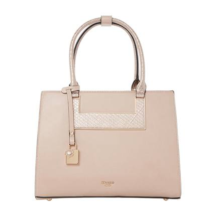 buy DUNE LONDON Darcyy Panelled Tote Bag at Rs. 8,499 sold by Ajio