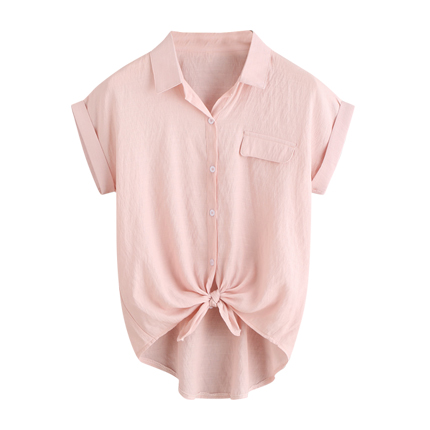 8fa1f0bc31 Explore latest Textured Shirt with Ruffled Cuffs at Rs. 451 sold by Ajio