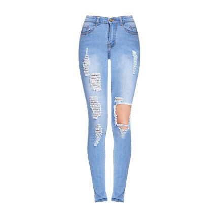 b4c9d04d35 Explore latest Bleach Wash Distressed Skinny Jeans at Rs. 1,236 sold ...