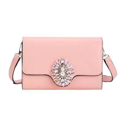 buy Rhinestone Detail Flap Crossbody Bag at Rs. 1,173 sold by Shein