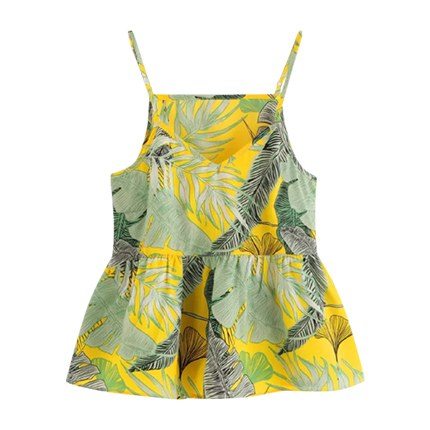buy Tropical Print Cami Top at Rs. 552 sold by Shein