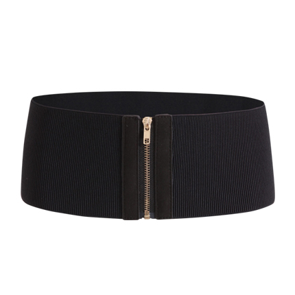 buy Zipper Up Elastic Waist Belt at Rs. 521 sold by Shein