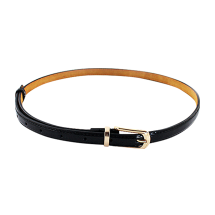 buy Fashion Black Buckle Belt at Rs. 456 sold by Shein