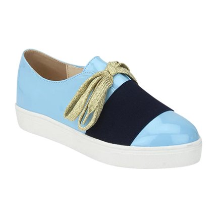buy Let's Race In Platform Blue Shoes at Rs. 1,295 sold by LuluAndSky