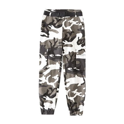 buy Flap Pockets Camouflage Jogger Pants at Rs. 2,077 sold by Zaful