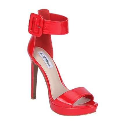 buy Steve Madden Red Stilettos at Rs. 4,899 sold by Jabong