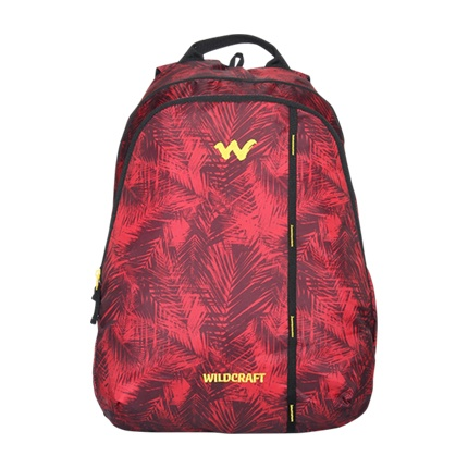 buy Wildcraft Wc 1 Foliage Red Backpack at Rs. 1,199 sold by Jabong