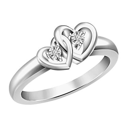 buy Silver Sterling Silver Ring at Rs. 1,001 sold by Jabong