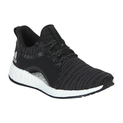 b38f13b43e Explore latest Adidas Pureboost X Black Running Shoes at Rs. 10,000 ...