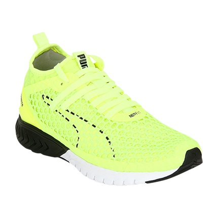 Buy Puma Ignite Dual Netfit Green Running Shoes for women in