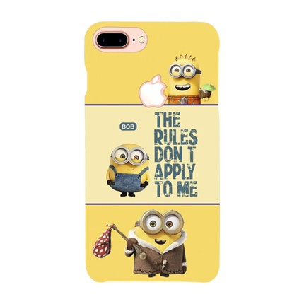 PrintVoo Despicable Minions Quote Printed Mobile Case for Apple iPhone 7 Plus