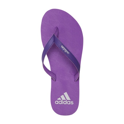 buy Adidas Women Purple Puka Flip-Flops at Rs. 715 sold by Myntra