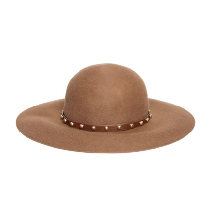 buy FOREVER 21 Women Brown Studded Sun Hat at Rs. 1,320 sold by Myntra