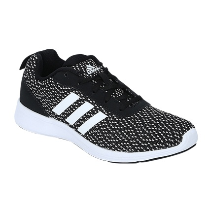 Style and compare Adidas Adiray X Black Running Shoes | footwear ...