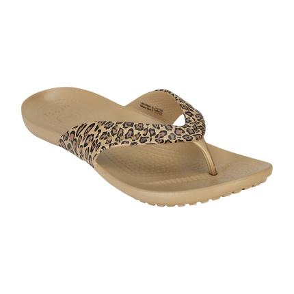 animal print flip flops womens