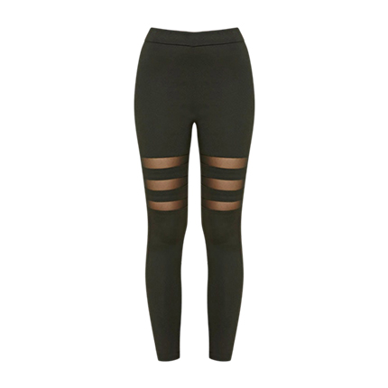 buy Women Black Leggings at Rs. 1,120 sold by Myntra