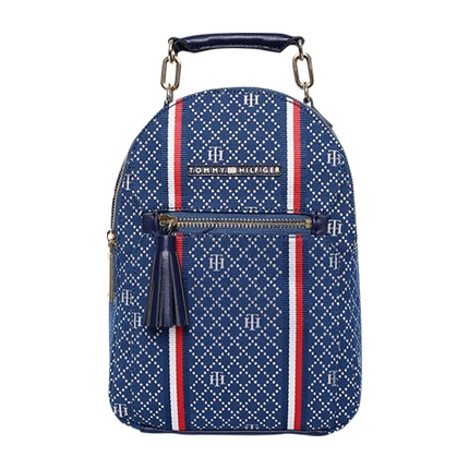 39927791dc3 Explore latest Tommy Hilfiger Women Navy Blue Brand Logo Backpack at ...